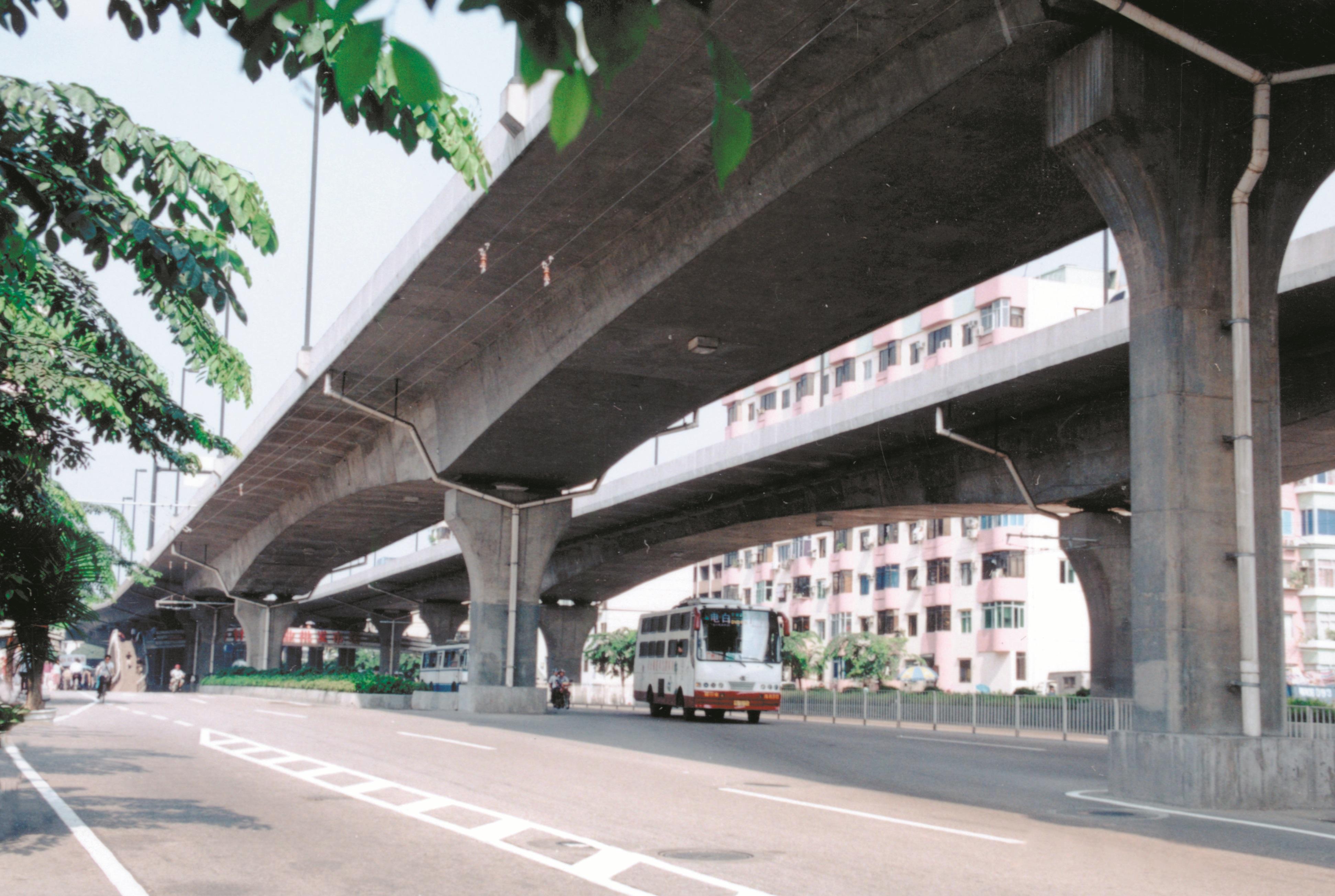 4标-跨克山铁路桥 _广州市市政工程设计