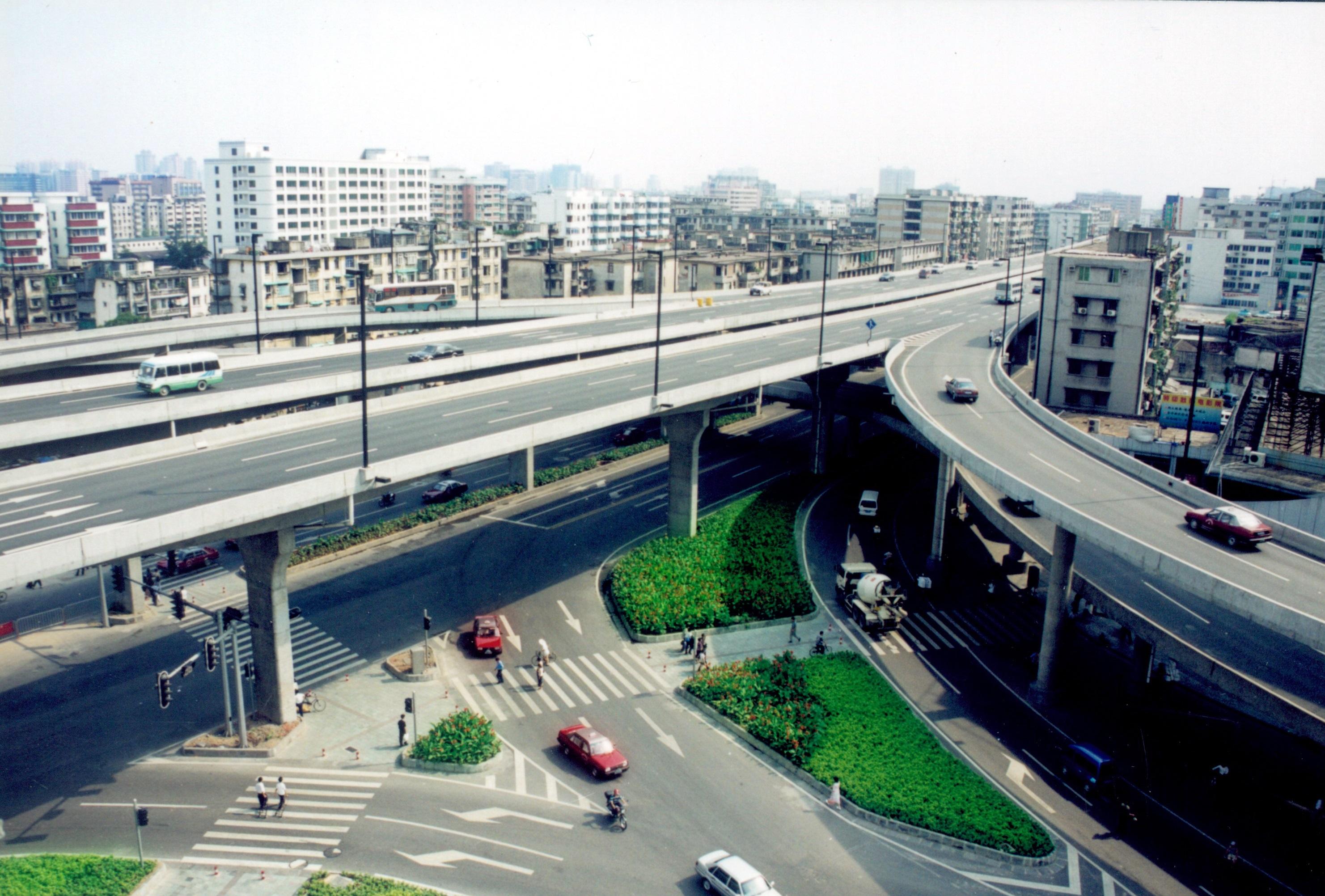 环市西路地面渠化交通设计 _广州市市政工程设计研究